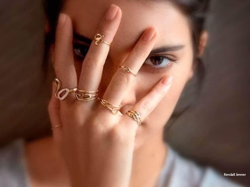 Verão 2018: Mix de Anéis em semi jóias – A moda
