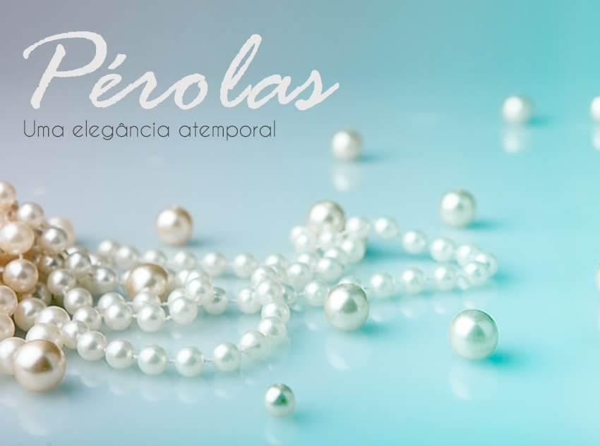 Uma elegância atemporal: Semi jóia de pérola