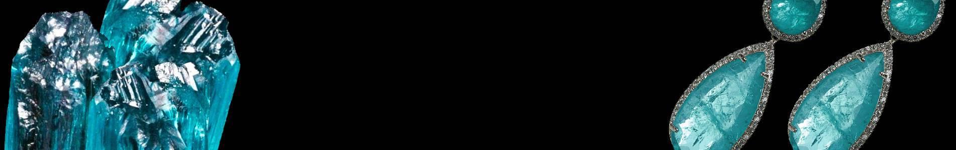 Semi Jóias em turmalina paraíba