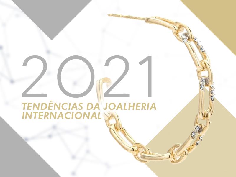 Tendências da joalheria internacional em 2021